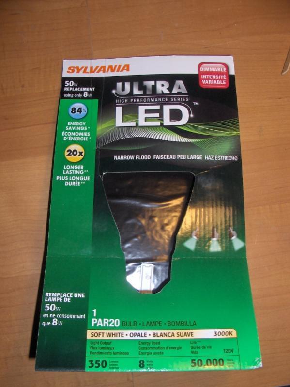 Attached Thumbnails & Picked up a Par20 LED light today - EcoRenovator azcodes.com