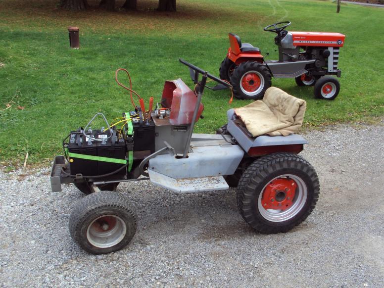 Ecorenovator View Single Post Electric Garden Tractor