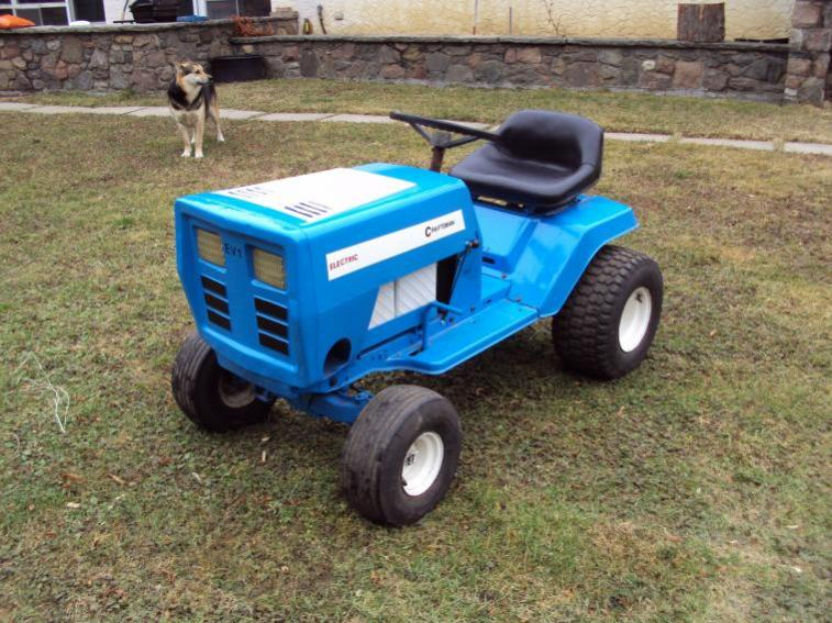 sears lawn tractor ev conversion ecorenovator - Sears Lawn And Garden