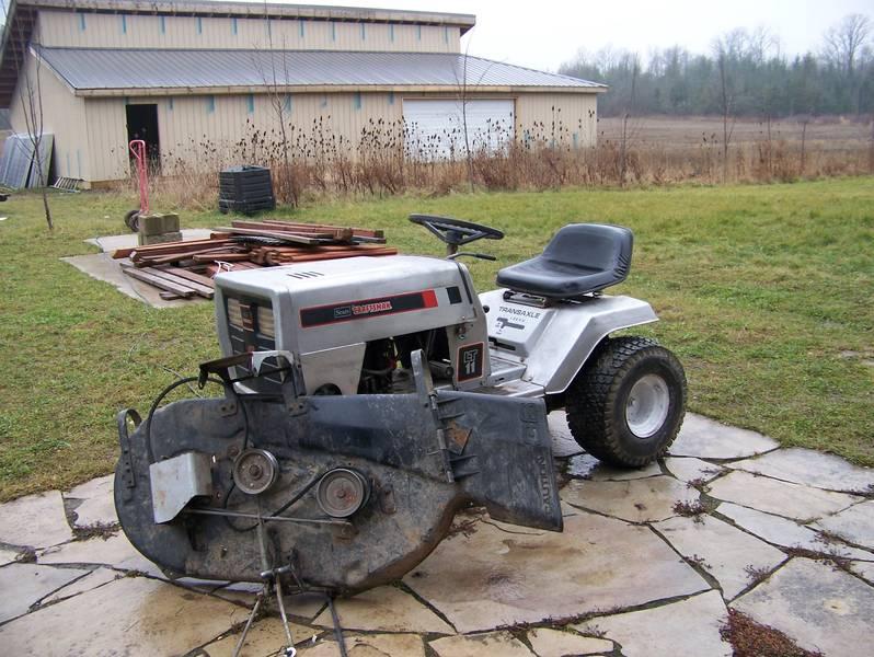 ecorenovator view single post sears lawn tractor ev
