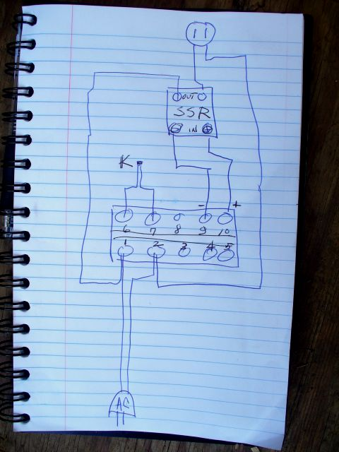 temp gauge wiring diagram ecorenovator - view single post - pid temperature controller