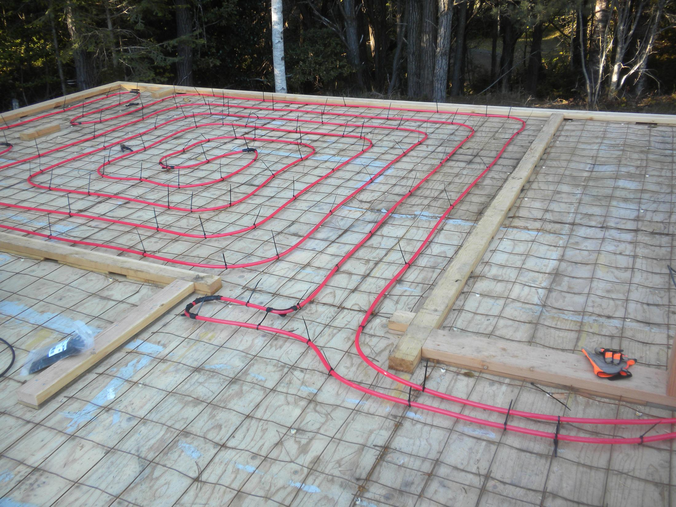 Diy hydronic floor heating page 36 ecorenovator for Floating slab foundation cold climates
