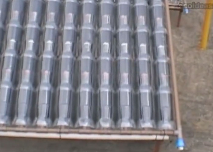 how to make a cheap solar hot water heater