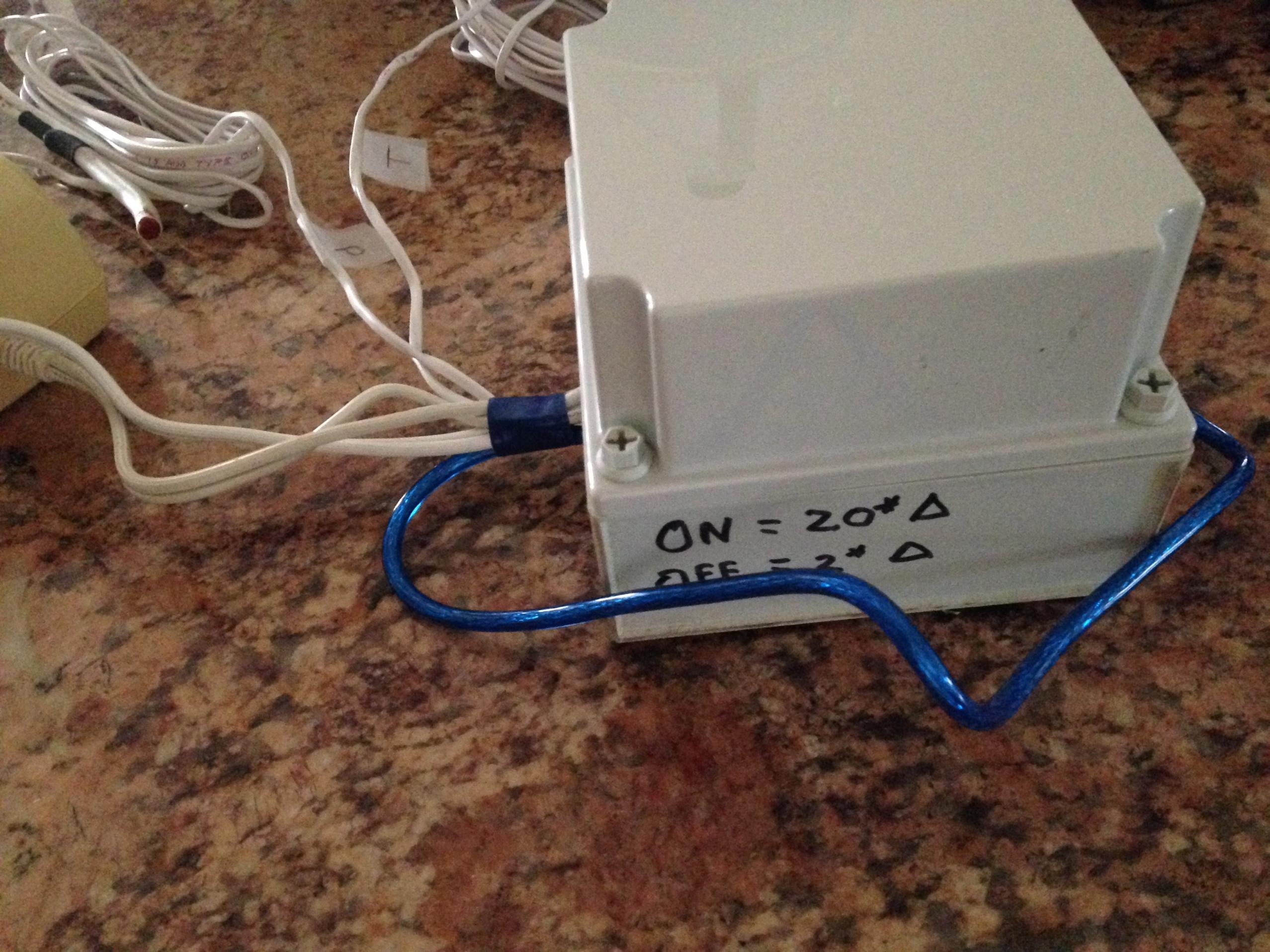 Solar Differential Controller Arduino Code - EcoRenovator
