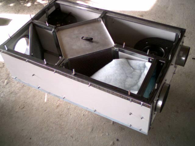 DIY ventilation heat exchanger - EcoRenovator