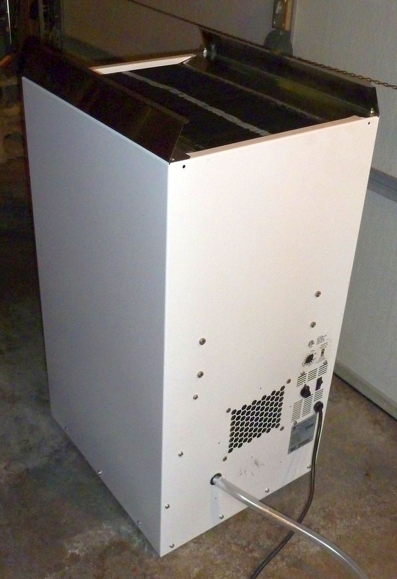 sante fe dehumidifier. And Some H2O Is Flowing Out Of The Drain Tube.. It Needs A Filter Pre-filter Installed. But Besides That. Might Be Usable. Sante Fe Dehumidifier