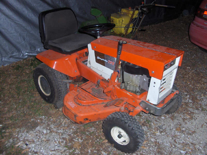 Return Used Lawn Mower Home Depot