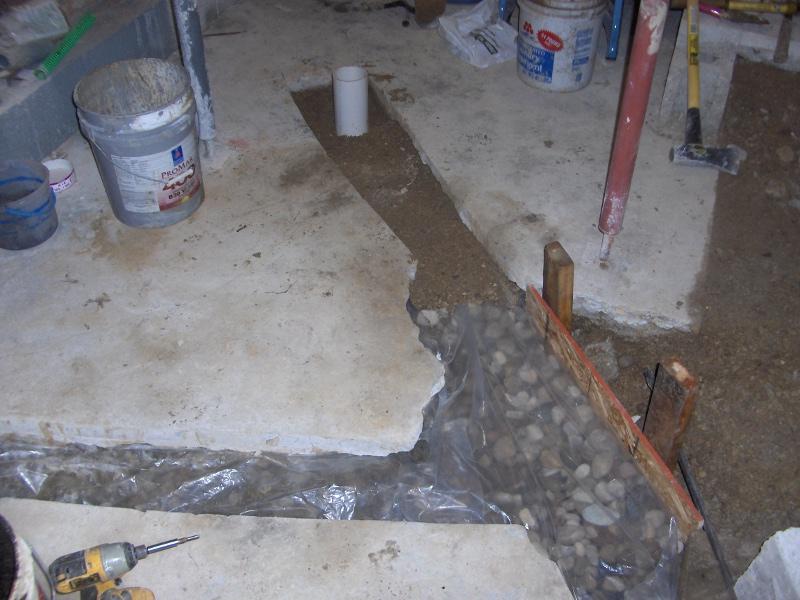 adding interior drain tile to a basement page 2 ecorenovator