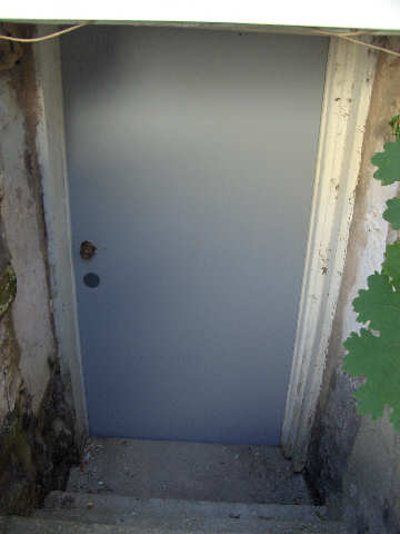 Post image for ER Project House:  Hanging a New Basement Door