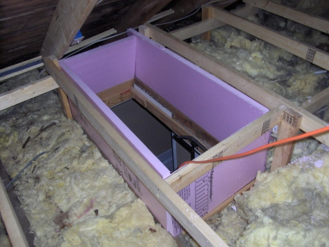 Er Project House Insulating The Attic Part 3