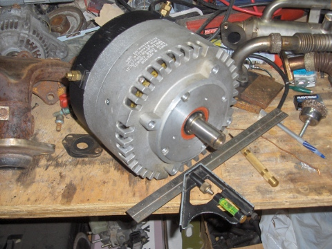 Post image for EcoRider: New Motor and Pulleys