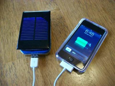 Post image for DIY Solar Ipod and Iphone (and more) Charger
