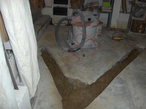 drain tile to a basement part 1 drain