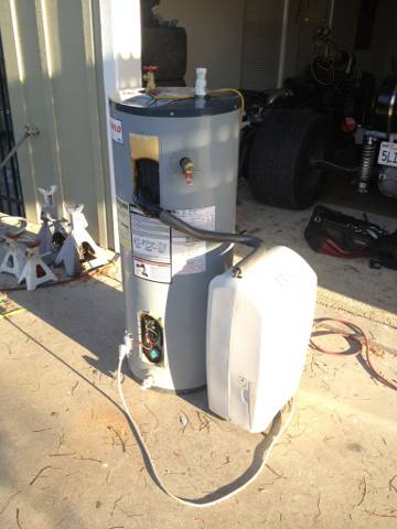 Post image for DIY Heat Pump Water Heater From a Dehumidifier