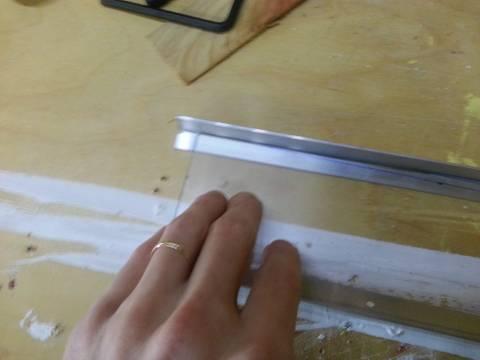 led fixture - trim