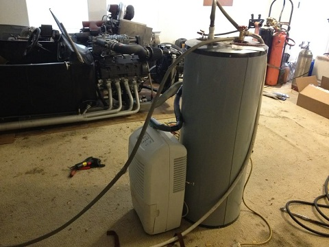 Post image for DIY Heat Pump Water Heater From a Dehumidifier – Part 2