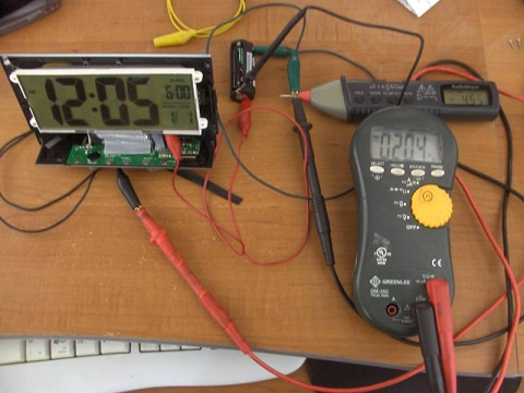 Post image for DIY Solar Powered Alarm Clock – Clock Testing