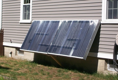 Post image for DIY Solar Hot Air Panel Construction Guide